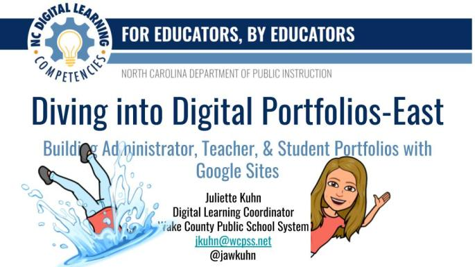Diving into Digital Portfolios- East